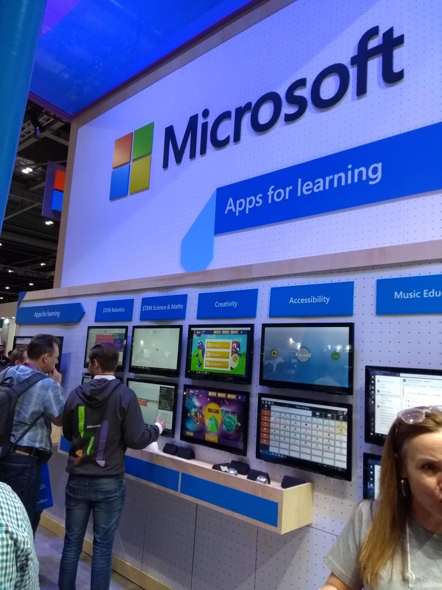 Microsoft education BETT Emile