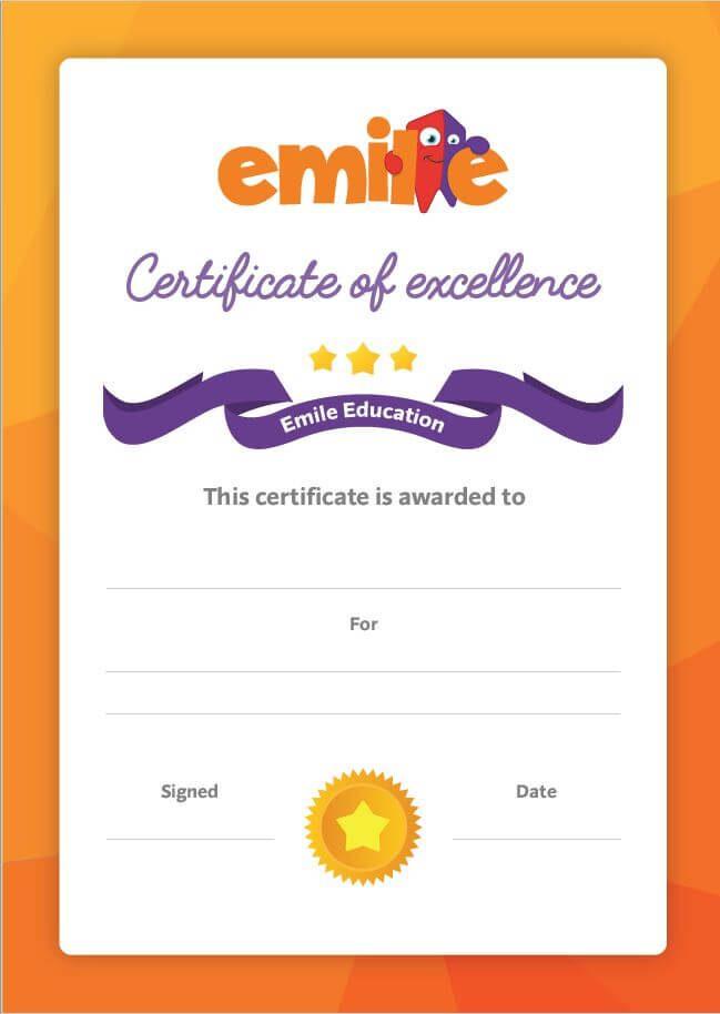 Student Certificate