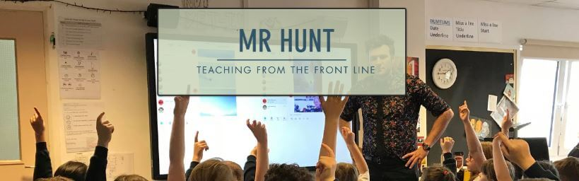 Mr Hunt from the Front logo