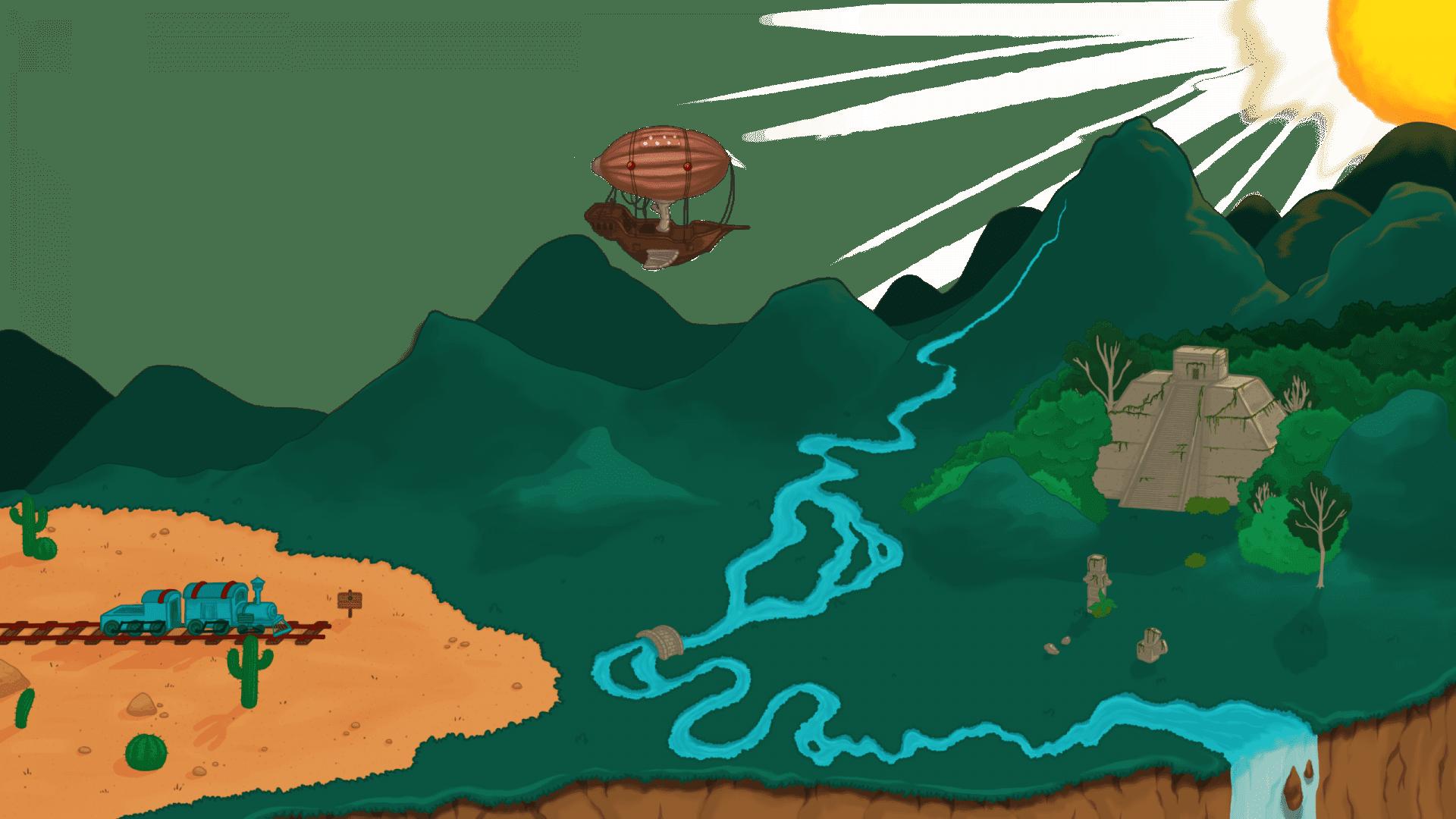 Fraction Quest Map