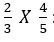 Multiplying fractions 1