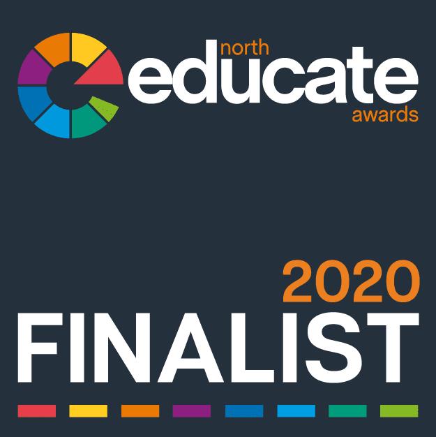 Educate North Awards 2020 - Finalist Badge