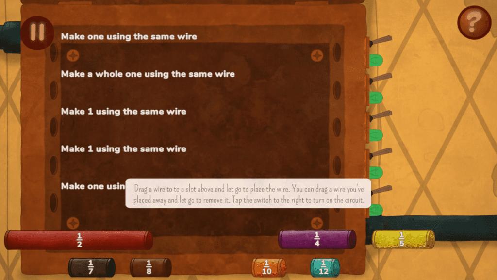 Fractio Quest Game 1