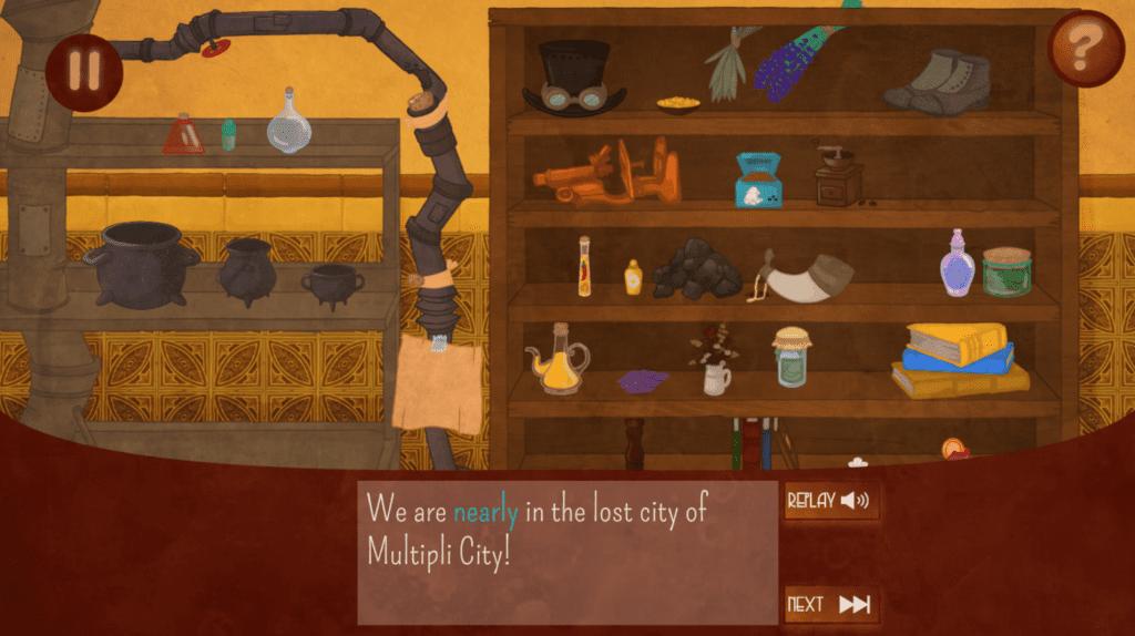 Fractio Quest Game 5