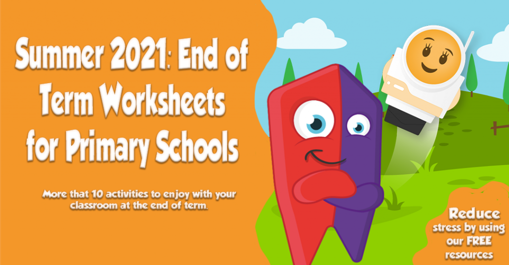 end of term worksheets